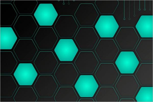 Free Hexagon Background
