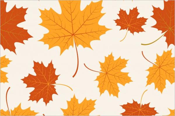 Free Vector Leaves Pattern