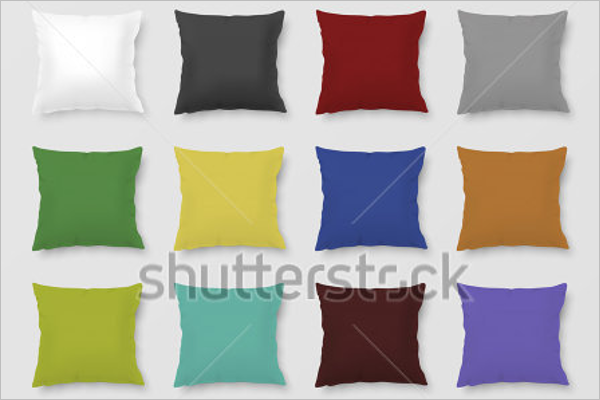 Free Vector Pillow Mockup