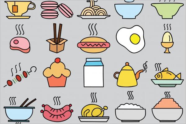 Free kitchen pattern vector