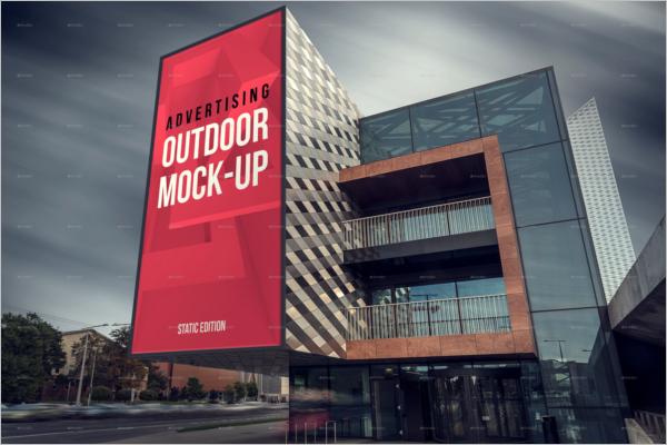 Full ScreenAdvertising Mockup Design