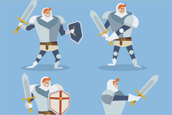 Funny Warrior Character Free