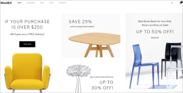 Furniture Agency Ecommerce Template