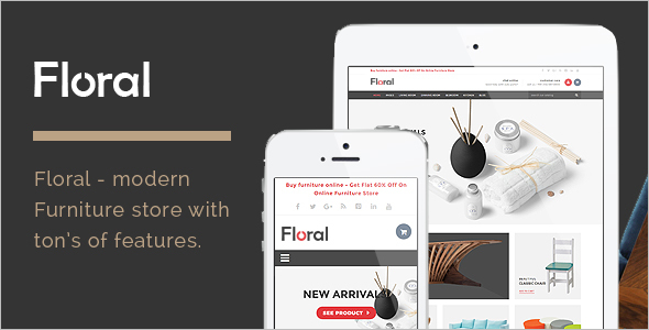 Furniture Business HTML Template