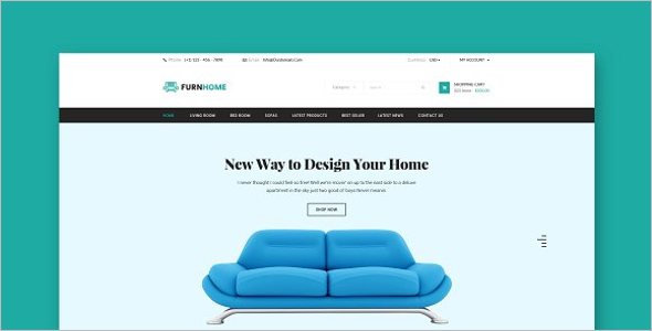 Furniture CSS3 Template