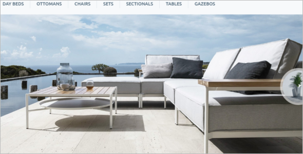 Furniture Company Ecommerece Theme