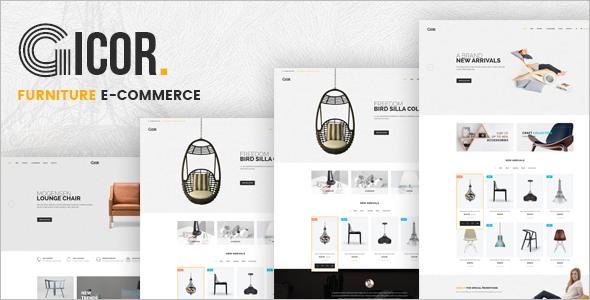 Furniture Decor Ecommerce Template
