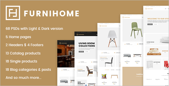 Home Furniture Ecommerce Template