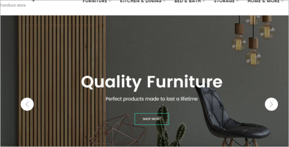 Furniture Manufacture Ecommerce Theme