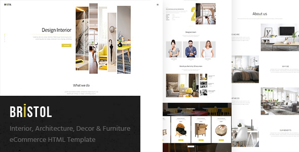 furniture shop ecommerce template. Black Bedroom Furniture Sets. Home Design Ideas