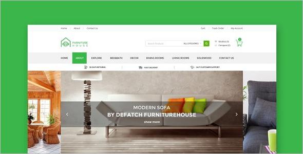 Furniture Store HTML Template