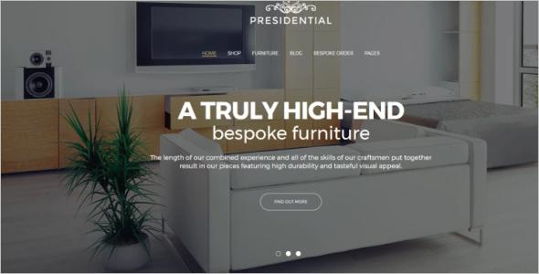 Furniture Woo commerce WordPress Theme