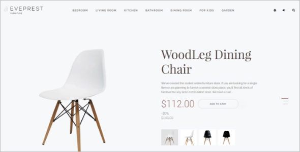 Furniture Wood Ecomerce Template