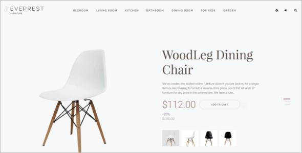 Furniture Wood Ecomerce Template