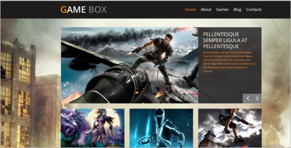 Game Box WordPress Theme