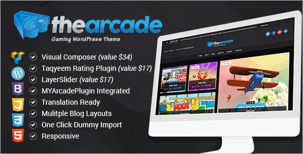 Game Editorial WordPress Theme