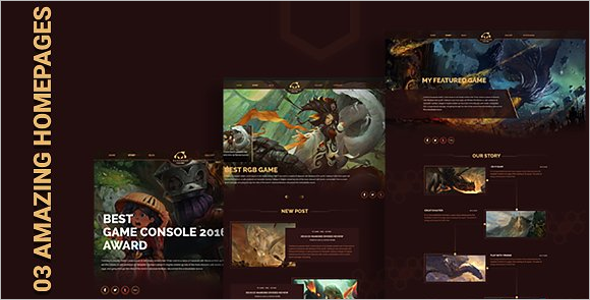 Game Pro WordPress Theme