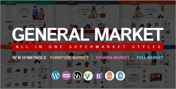 General Mart eCommerce Website Theme