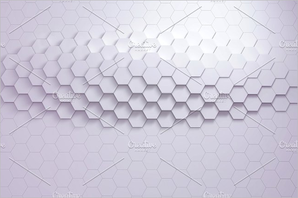 Geometric Hexagon Background
