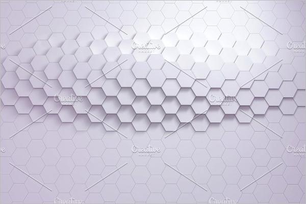 Geometric Hexagon Background