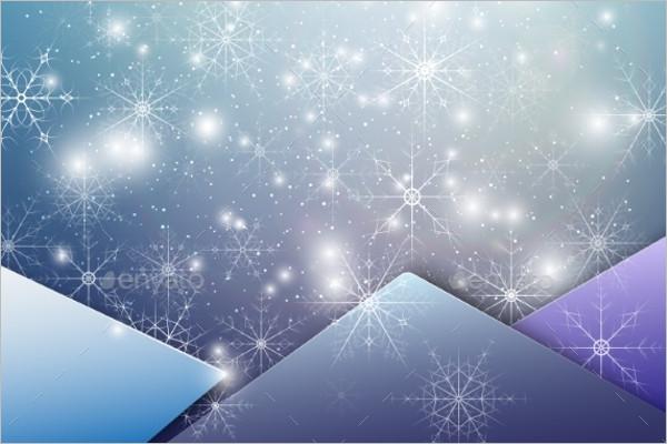 Glitter Snow Winter Background