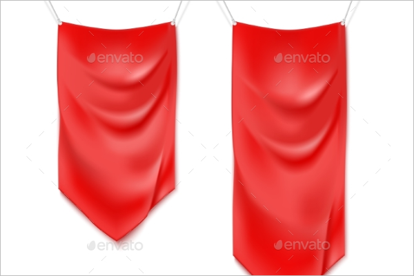 Graphical Fabric Banner Design
