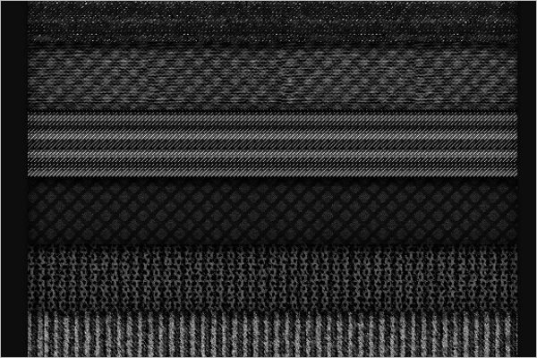 Gray Fabric Pattern Design