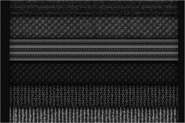 Gray Fabric Pattern Design