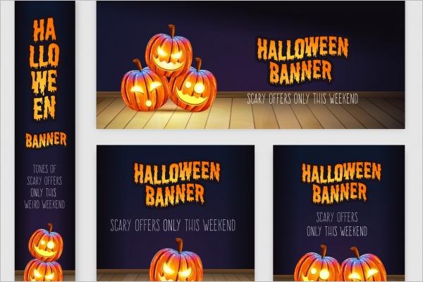 Halloween Banner Collection Idea