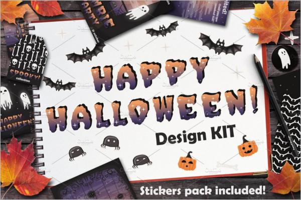 Halloween Banner Design Idea