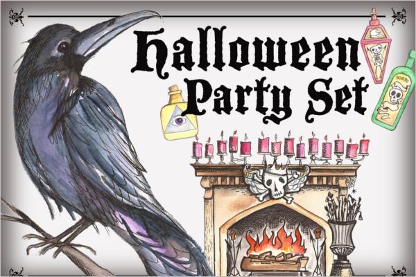 Halloween Banner Display Idea