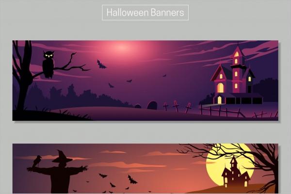 Halloween Banner Landscap Idea