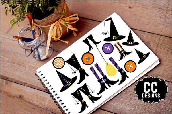 Halloween Banner Template Model