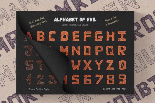 Halloween Banner Vector Idea
