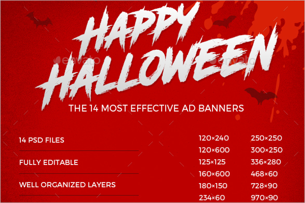 Halloween Business Banner Idea
