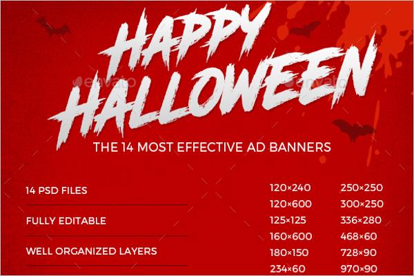 Halloween Business Banner Idea