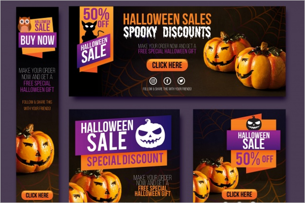Halloween Graphic banner Idea