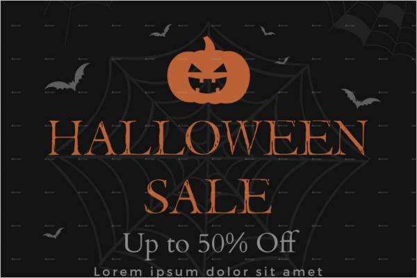 Halloween Party Banner Idea
