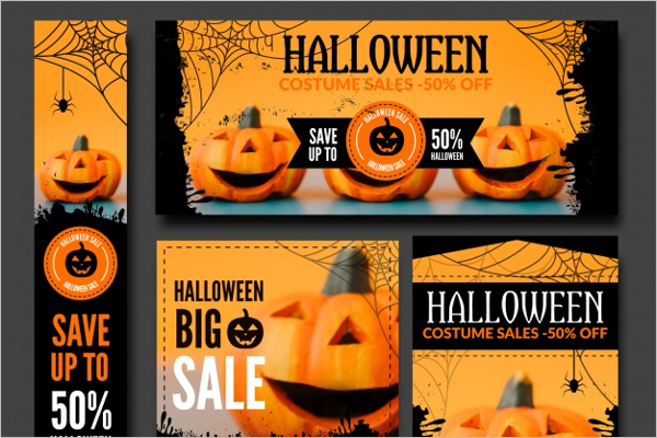 Halloween Scale Banner Idea