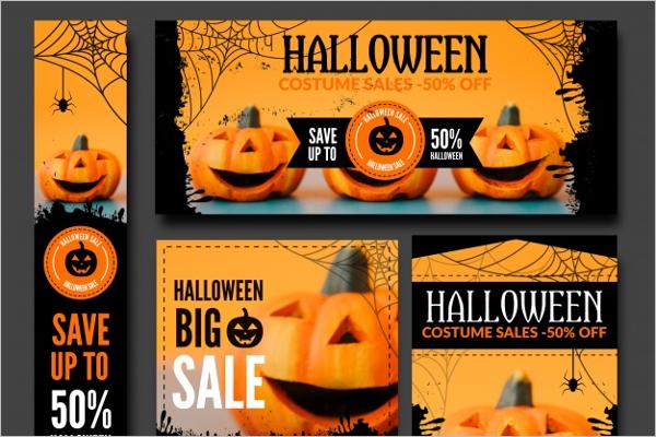 Halloween Scale Banner Idea