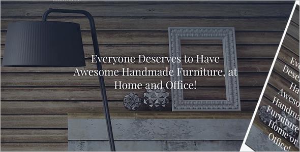 Handmade Furniture WordPress Theme
