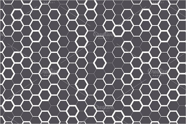Hexagon Seamless Pattern Design