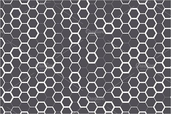 Hexagon Seamless Pattern Design