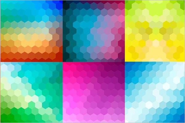 Hexagonal Grid Background