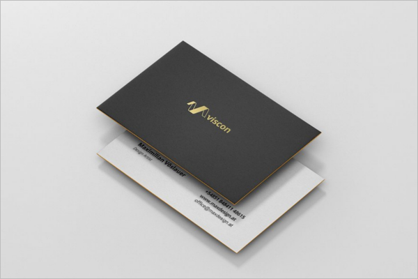 High Quality Business Card Mockup Design