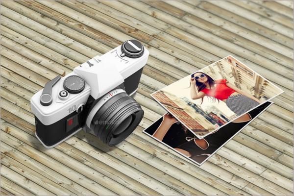 High Resolution Camera Mockup
