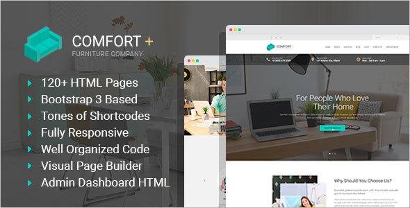 High Resolution Furniture HTML Template
