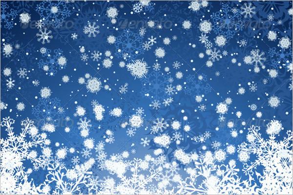 High Resolution Winter Background