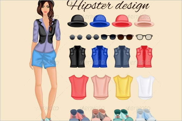Hipster Women Design