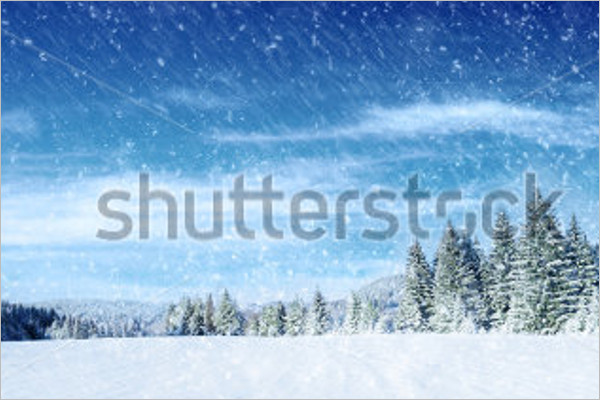 Hoarfrost Winter Illustration Background